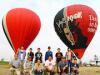 佐賀で熱気球の「引退式」 ポーランドから輸入の「奇抜なデザイン」に別れを惜しむ